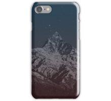 Fishtail Mountain iPhone Case/Skin