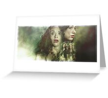 Allydia - Teen Wolf Poster Greeting Card