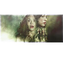 Allydia - Teen Wolf Poster Photographic Print