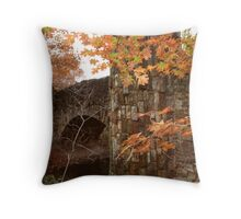 Lincoln Bridge Revisited Throw Pillow