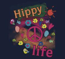Hippy Life Kids Tee