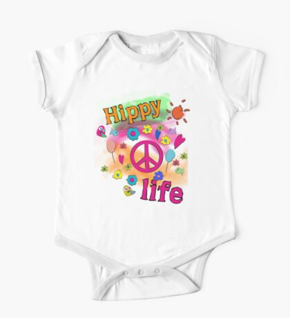 Hippy Life One Piece - Short Sleeve