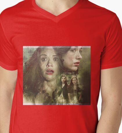 Allydia - Teen Wolf Poster Mens V-Neck T-Shirt