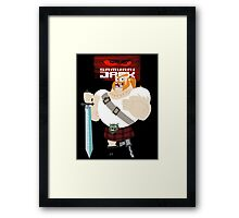 The Scot's Man Framed Print