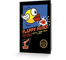 Flappy Hunt Greeting Card