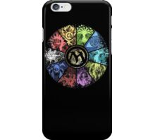 MTG Faded Guild Wheel iPhone Case/Skin