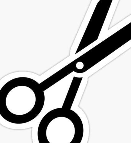 Hairdresser scissors Sticker