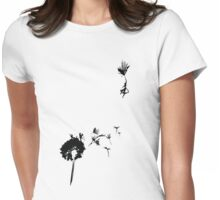 if mary poppins had a giant dandilion Womens Fitted T-Shirt
