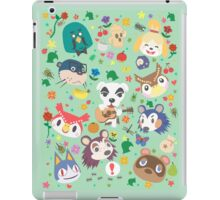 Animal Crossing New Leaf Town Folk iPad Case/Skin