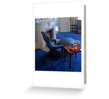 Let's watch TV in the TV sitting room! Greeting Card