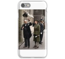 Winston and Mary Churchill iPhone Case/Skin