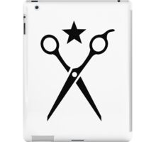 Hairstyler scissors iPad Case/Skin