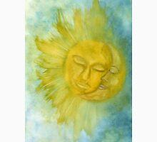 Sun and Moon Watercolor Painting T-Shirt