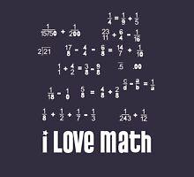 i love math Unisex T-Shirt