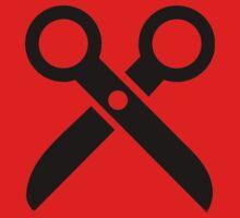 Scissors logo Kids Tee