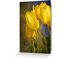 Katie's Tulips Greeting Card