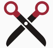 Scissors symbol Kids Clothes