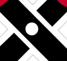 Scissors symbol Sticker