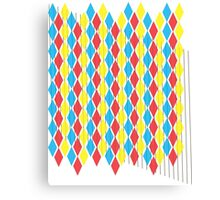 Primary Colors gear3 Canvas Print