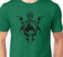 tribal quads Unisex T-Shirt