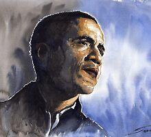 Barack Obama 01 by Yuriy Shevchuk