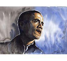 Barack Obama 01 Photographic Print