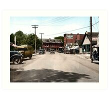Wickford Village, Rhode Island,  Art Print