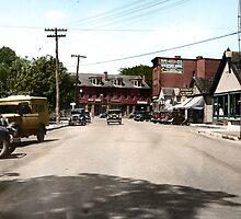 Wickford Village, Rhode Island,  by jenoscolor