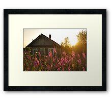 Rabocheostrovsk Framed Print