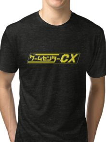 GameCenter CX Logo (Updated) Tri-blend T-Shirt