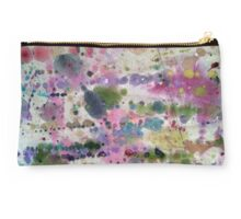 Drop Cloth Art - Abstract Paint Splatters III Studio Pouch
