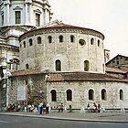 Brescia, the old Cathedral  (Duomo vecchio) by presbi