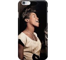 The Talented Sarah Vaughan, 1946 iPhone Case/Skin