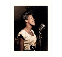The Talented Sarah Vaughan, 1946 Art Print
