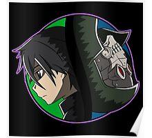 Kirito vs Death Gun Poster