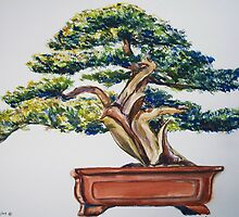 Bonsai Tree by Cathy McGregor