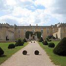 Cognac Castle Front Aspect by Pamela Jayne Smith