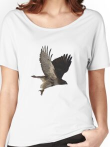 Red-Tail Hawk Tee Women's Relaxed Fit T-Shirt