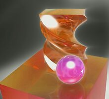 Colored Crystal Relics by James Brotherton