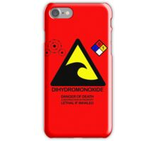 DIHYDROMONOXIDE iPhone Case/Skin