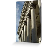 Cork City Court House Greeting Card