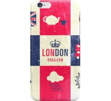 City Of London United Kingdom England Distressed iPhone Case/Skin