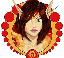 Warrior Elf by Arranell