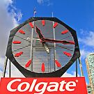 Colgate Clock Jersey City NJ by pmarella