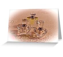 A Fragrant Collection Greeting Card