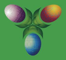 Easter Eggs - Three Kids Tee