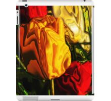 Yellow and Red Tulips iPad Case/Skin