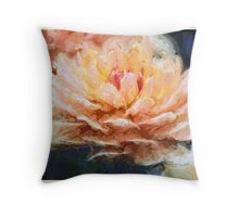 Impressionist Style Water Lily - Lotus - Zen Art - Impressionism Throw Pillow
