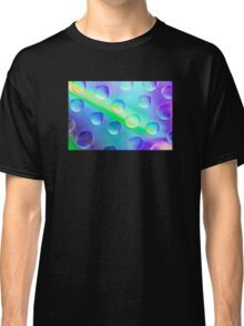 Abstract Psychedelic Drops Classic T-Shirt