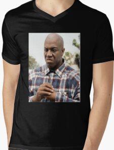 Fight Me. Mens V-Neck T-Shirt